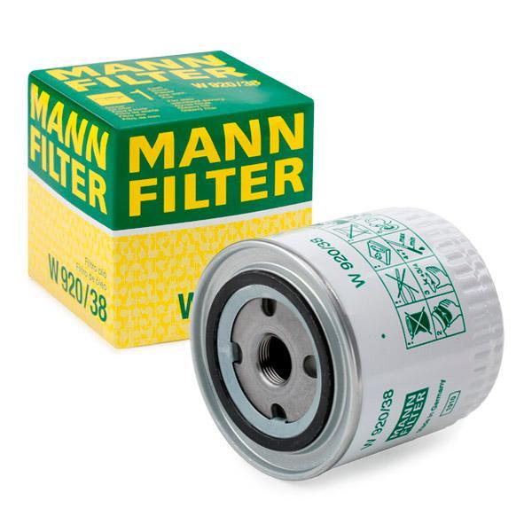 Ölfilter MANN-FILTER W920/38 Erfahrung