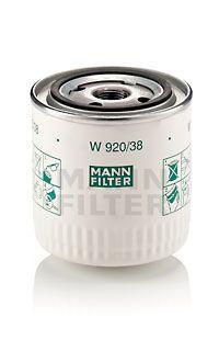 Artikelnummer W 920/38 MANN-FILTER Preise