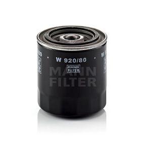 Ölfilter Ø: 93mm, Außendurchmesser 2: 71mm, Innendurchmesser 2: 63mm, Innendurchmesser 2: 63mm, Höhe: 97mm mit OEM-Nummer 19404-3243-1