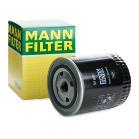 Filtre à huile Ø: 93mm, Diamètre extérieur 2: 71mm, Diamètre intérieur 2: 62mm, Hauteur: 114mm avec OEM numéro 3059134R91