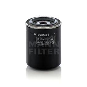 Filtro de aceite Ø: 93mm, Diámetro exterior 2: 71mm, Diám. int. 2: 63mm, Altura: 121mm con OEM número A740 X6714 AA