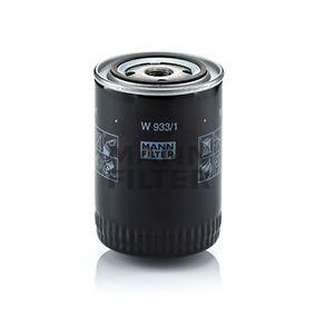 Filtro de aceite Ø: 93mm, Diámetro exterior 2: 71mm, Diám. int. 2: 62mm, Altura: 130mm con OEM número A740X6714AA