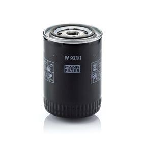 Filtro de aceite Número de artículos W 933/1 120,00€