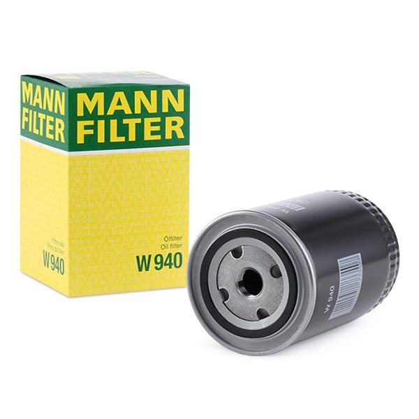 Ölfilter MANN-FILTER W940 Erfahrung