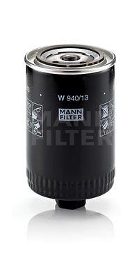 MANN-FILTER  W 940/13 Filtro de aceite Ø: 93mm, Diámetro exterior 2: 71mm, Diám. int. 2: 62mm, Altura: 155mm