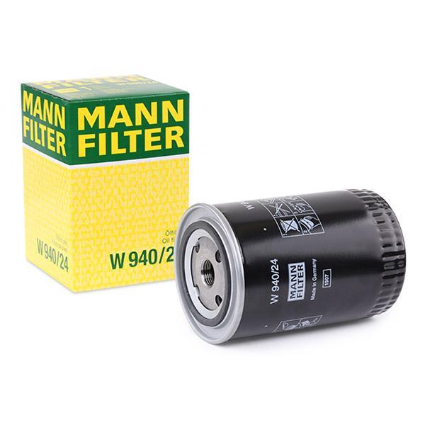 Oljefilter MANN-FILTER W940/24 fagkunnskap