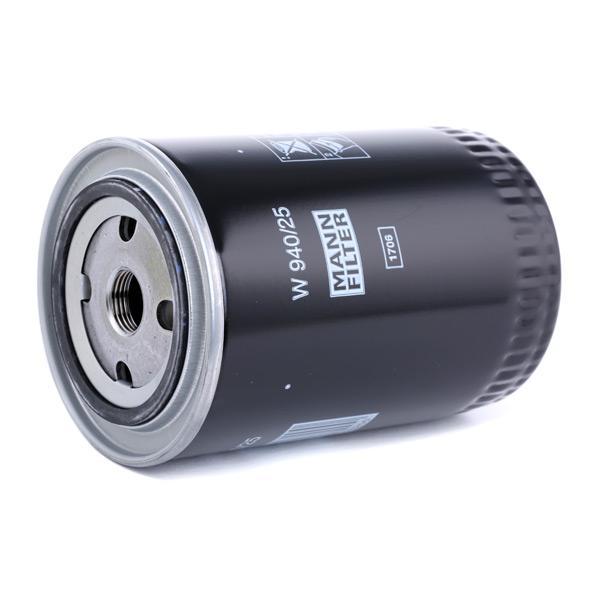 Oil Filter MANN-FILTER W 940/25 4011558712907