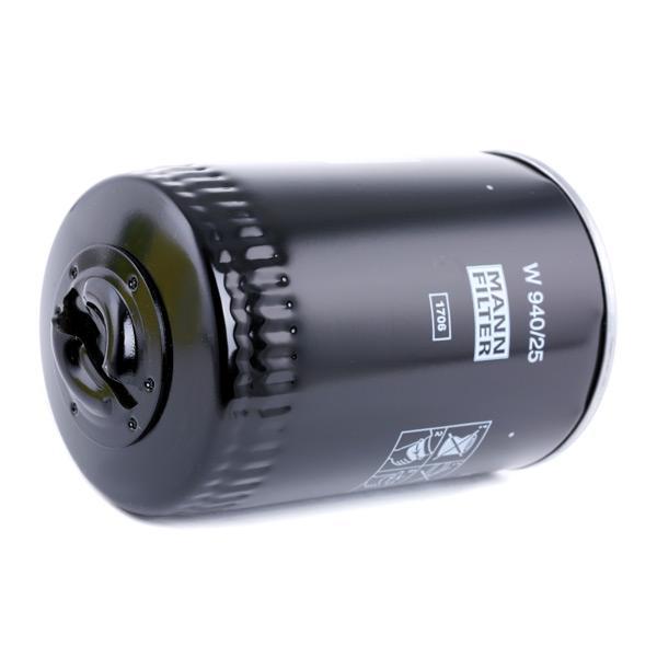 W 940/25 MANN-FILTER от производител до - 29% отстъпка!