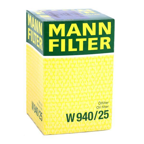 Artikelnummer W 940/25 MANN-FILTER Preise