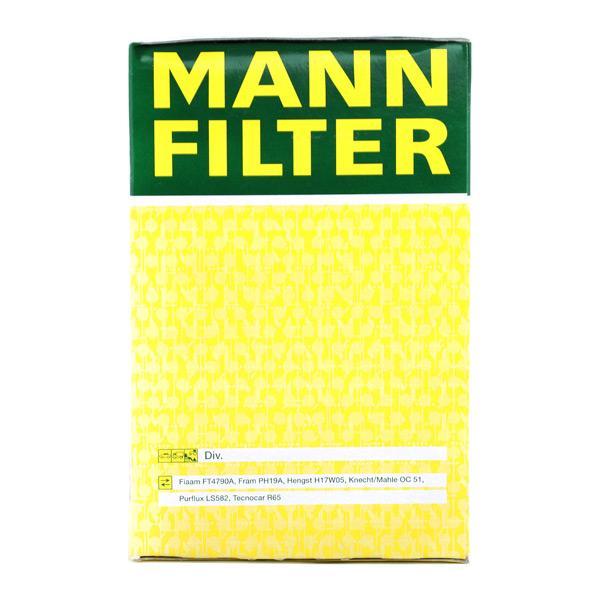 MANN-FILTER Art. Nr W 940/25 advantageously