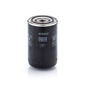 Filtro de aceite Número de artículos W 940/27 120,00€