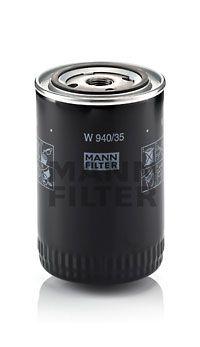 MANN-FILTER  W 940/35 Ölfilter Ø: 93mm, Außendurchmesser 2: 71mm, Innendurchmesser 2: 62mm, Innendurchmesser 2: 62mm, Höhe: 142mm