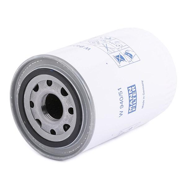W 940/51 MANN-FILTER from manufacturer up to - 20% off!