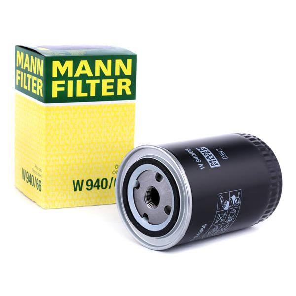 Ölfilter MANN-FILTER W940/66 Erfahrung