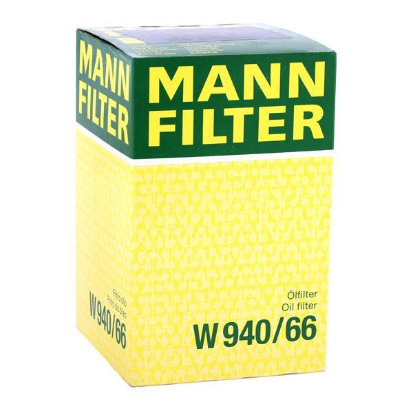 Artikelnummer W 940/66 MANN-FILTER Preise