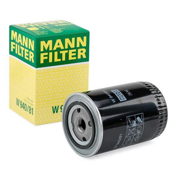 Ölfilter MANN-FILTER W940/81 Erfahrung