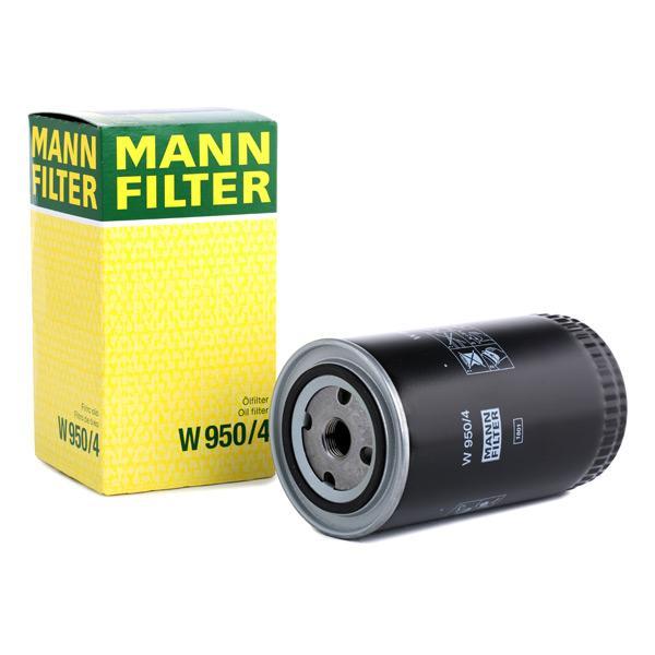 Ölfilter MANN-FILTER W950/4 Erfahrung
