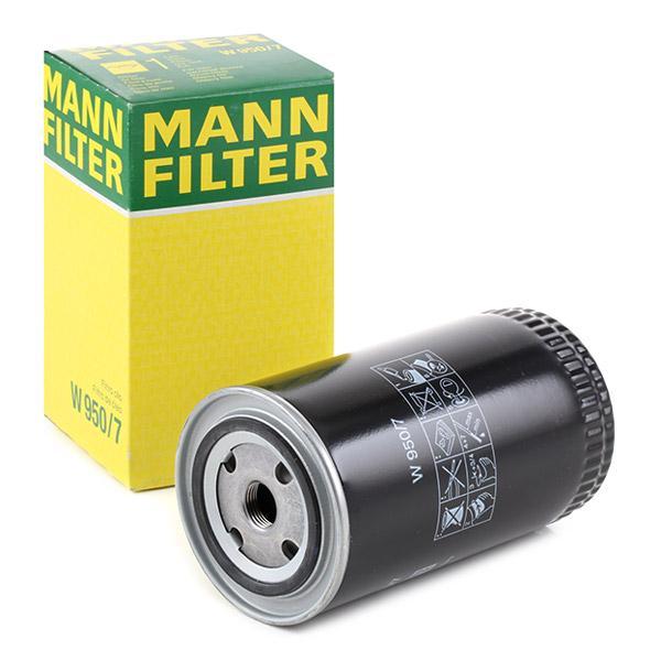 Filtro de Aceite MANN-FILTER W950/7 conocimiento experto