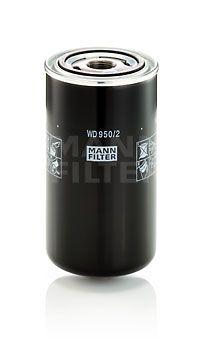 MANN-FILTER  WD 950/2 Hydraulikfilter, Automatikgetriebe Höhe: 172mm