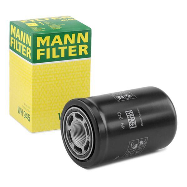 Filtro hidráulico, transmisión automática MANN-FILTER WH945 conocimiento experto