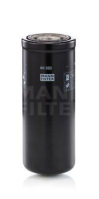 MANN-FILTER  WH 980 Filtro hidráulico, transmisión automática Altura: 240mm