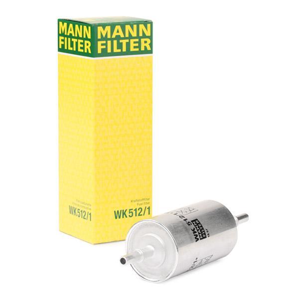 Filtro de Combustible MANN-FILTER WK512/1 conocimiento experto