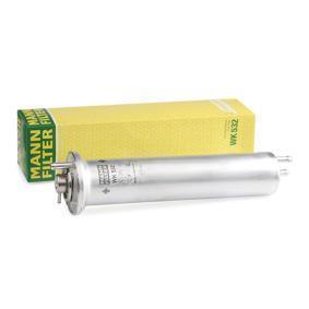 MANN-FILTER  WK 532 Kraftstofffilter Höhe: 310mm