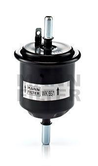 MANN-FILTER  WK 55/1 Kraftstofffilter Höhe: 122mm