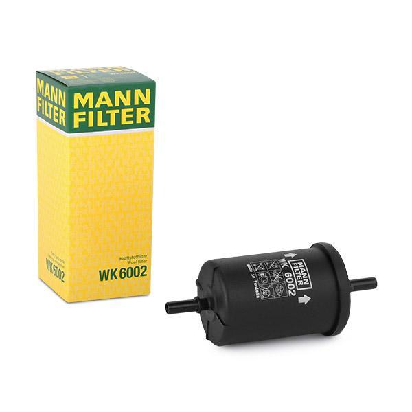 Filtru combustibil MANN-FILTER WK6002 cunoștințe de specialitate