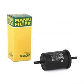 MANN-FILTER WK6002 Erfahrung