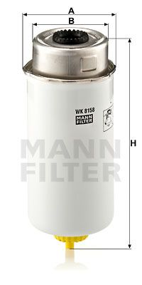 Article № WK 8158 MANN-FILTER prices