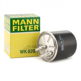 MANN-FILTER WK820/1 expert knowledge