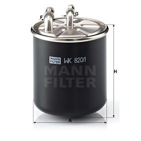 WK 820/1 MANN-FILTER from manufacturer up to - 24% off!