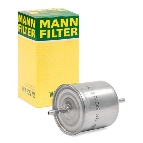 Inline fuel filter MANN-FILTER WK822/2 expert knowledge