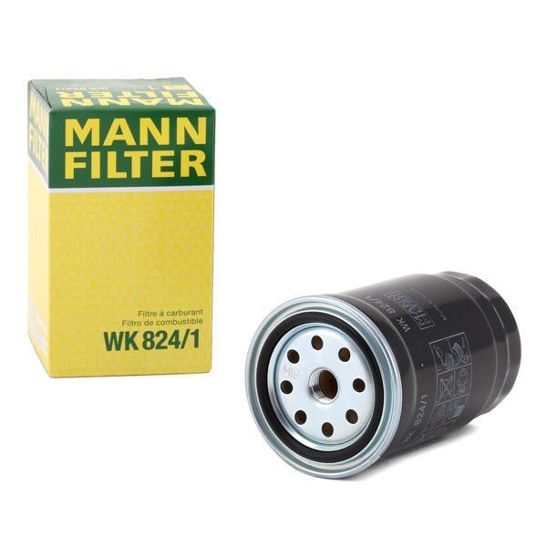 Inline fuel filter MANN-FILTER WK824/1 expert knowledge