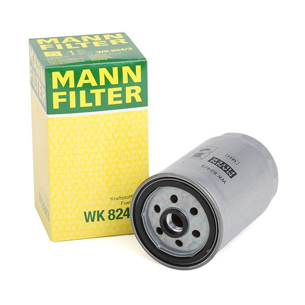Inline fuel filter MANN-FILTER WK824/3 expert knowledge