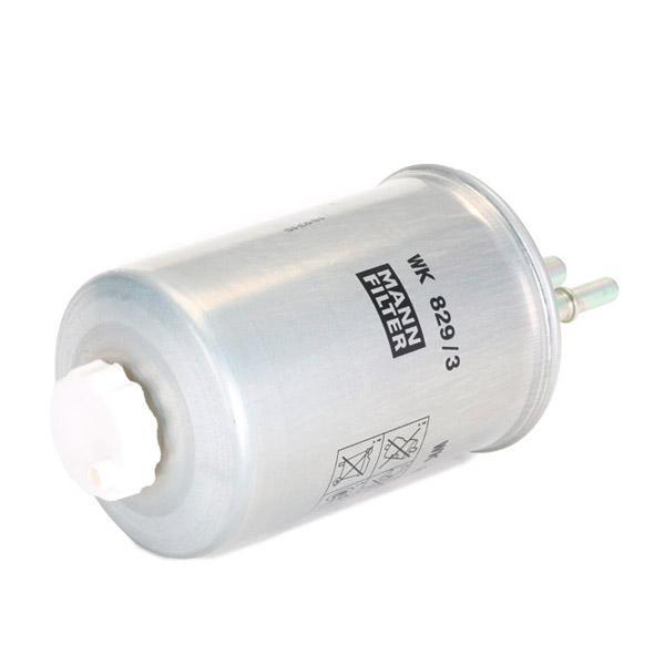 Filtro de Combustible MANN-FILTER WK829/3 conocimiento experto