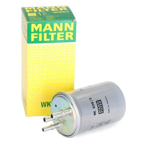 Filtro de Combustible MANN-FILTER WK 829/3 4011558953300