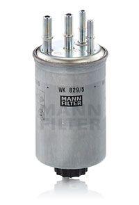 MANN-FILTER  WK 829/5 Fuel filter Height: 148mm