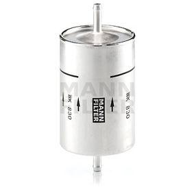 MANN-FILTER  WK 830 Fuel filter Height: 164mm