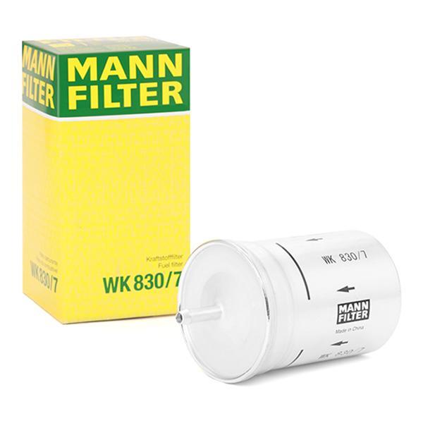 Inline fuel filter MANN-FILTER WK 830/7 4011558906009