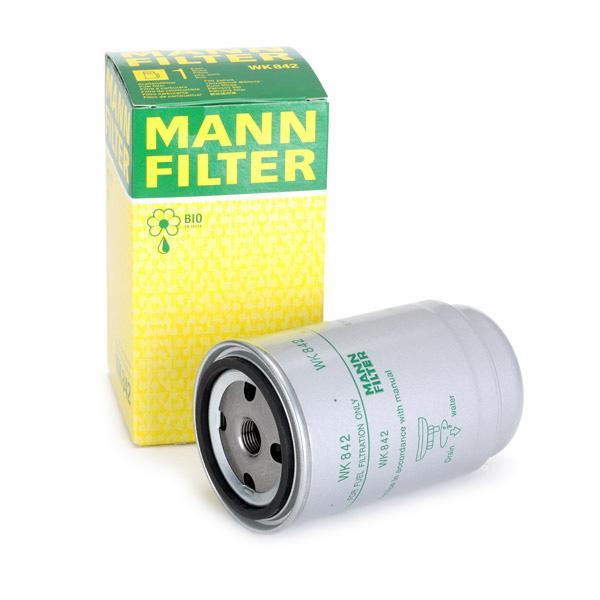 Inline fuel filter MANN-FILTER WK842 expert knowledge