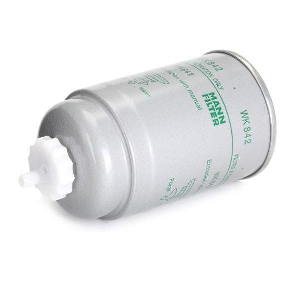 Inline fuel filter MANN-FILTER WK 842 4011558901905