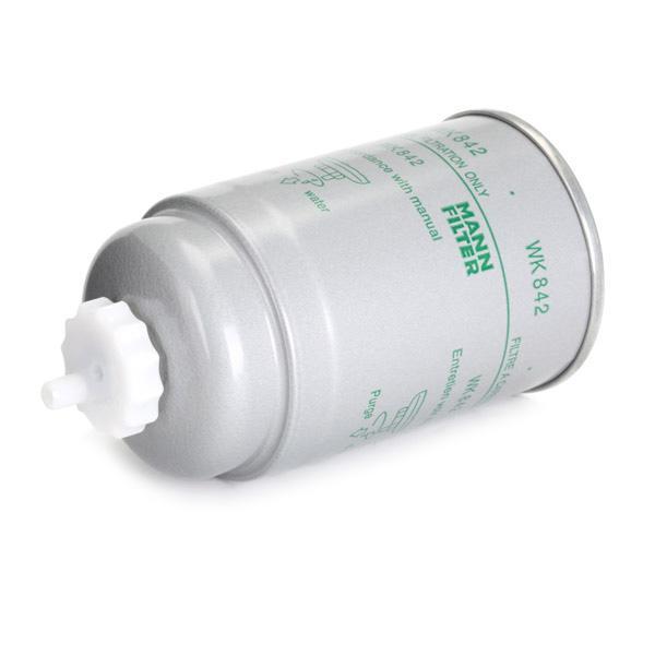 Brandstoffilter MANN-FILTER WK 842 4011558901905