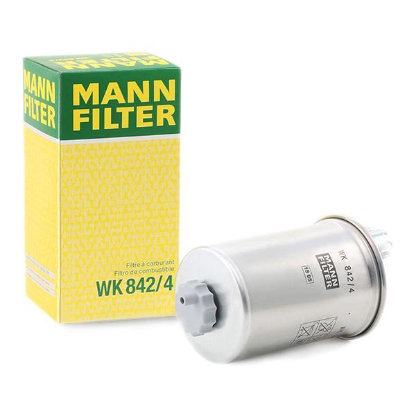 Inline fuel filter MANN-FILTER WK842/4 expert knowledge