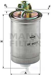 WK 842/4 MANN-FILTER from manufacturer up to - 32% off!