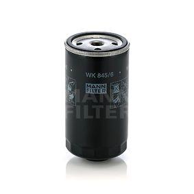 MANN-FILTER  WK 845/6 Kraftstofffilter Höhe: 144mm