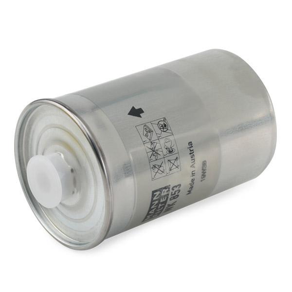 Inline fuel filter MANN-FILTER WK 853 4011558902704