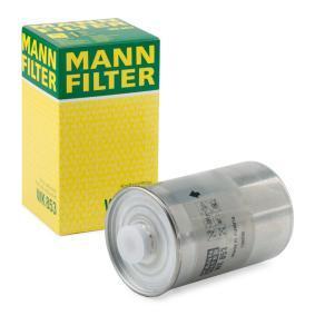 MANN-FILTER WK853 Expertkunskap