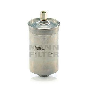 MANN-FILTER Kraftstofffilter WK 853/1 für AUDI 90 (89, 89Q, 8A, B3) 2.2 E quattro ab Baujahr 04.1987, 136 PS